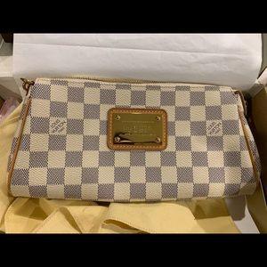 Louis Vuitton Eva Damien Azur Crossbody Clutch